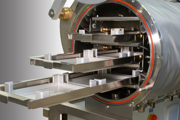 Heating Vacuum Chamber for glove boxes