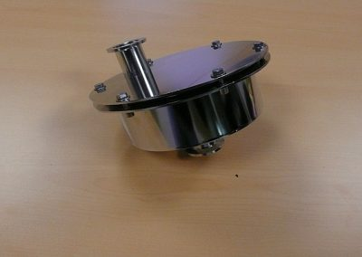 Glove Box 5m3/h Filter Casing