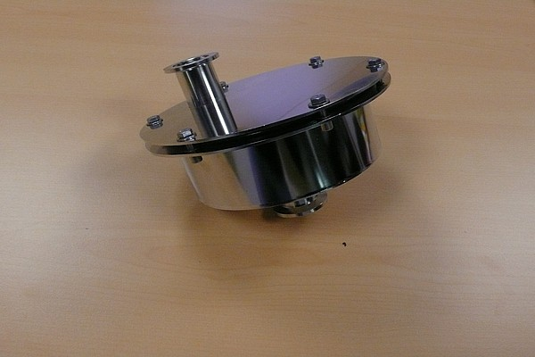5m3/h filter casing for glove boxes