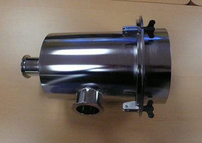 Glove Box 70m3/h Filter Casing