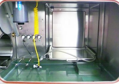 Anti-Corrosion Coatings for Glove Boxes