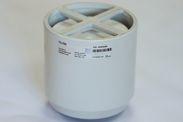 HEPA filter for glove boxes and isolators