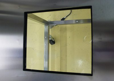 Quartz Window for Glove Boxes
