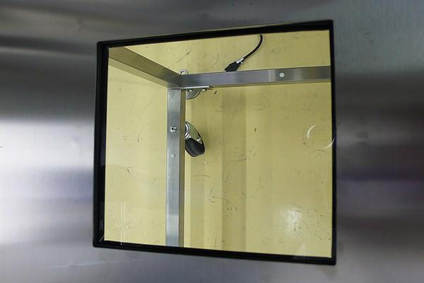 Quartz Window for Glove Boxes
