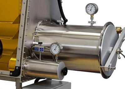 Vacuum Chamber for Glove Boxes