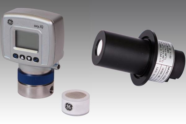 Oxigen sensors for glove box and isolator
