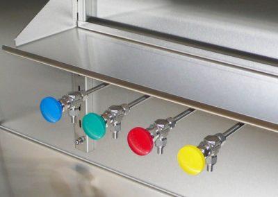 Solvent dispensing for Glove Box