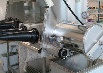 Thermogravimetric Analysis (TGA) for Glove Boxes