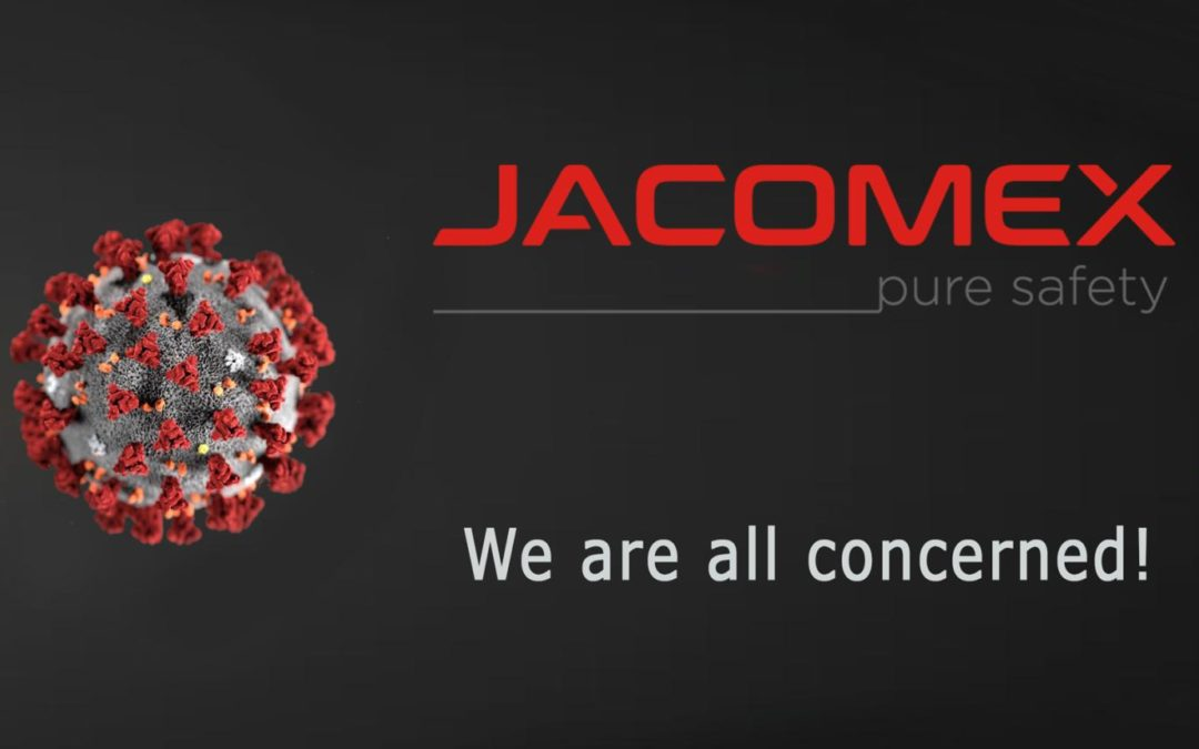 Jacomex - COVID-19: we are all concerned!