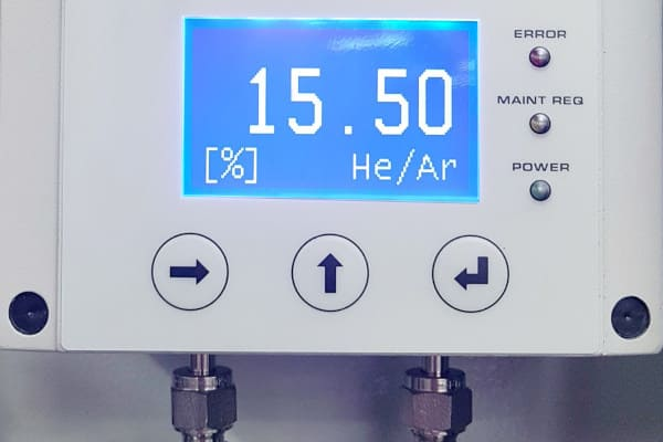 He - H2 Analyzer for Glove BoxesHe - H2 Analyzer for Glove Boxes