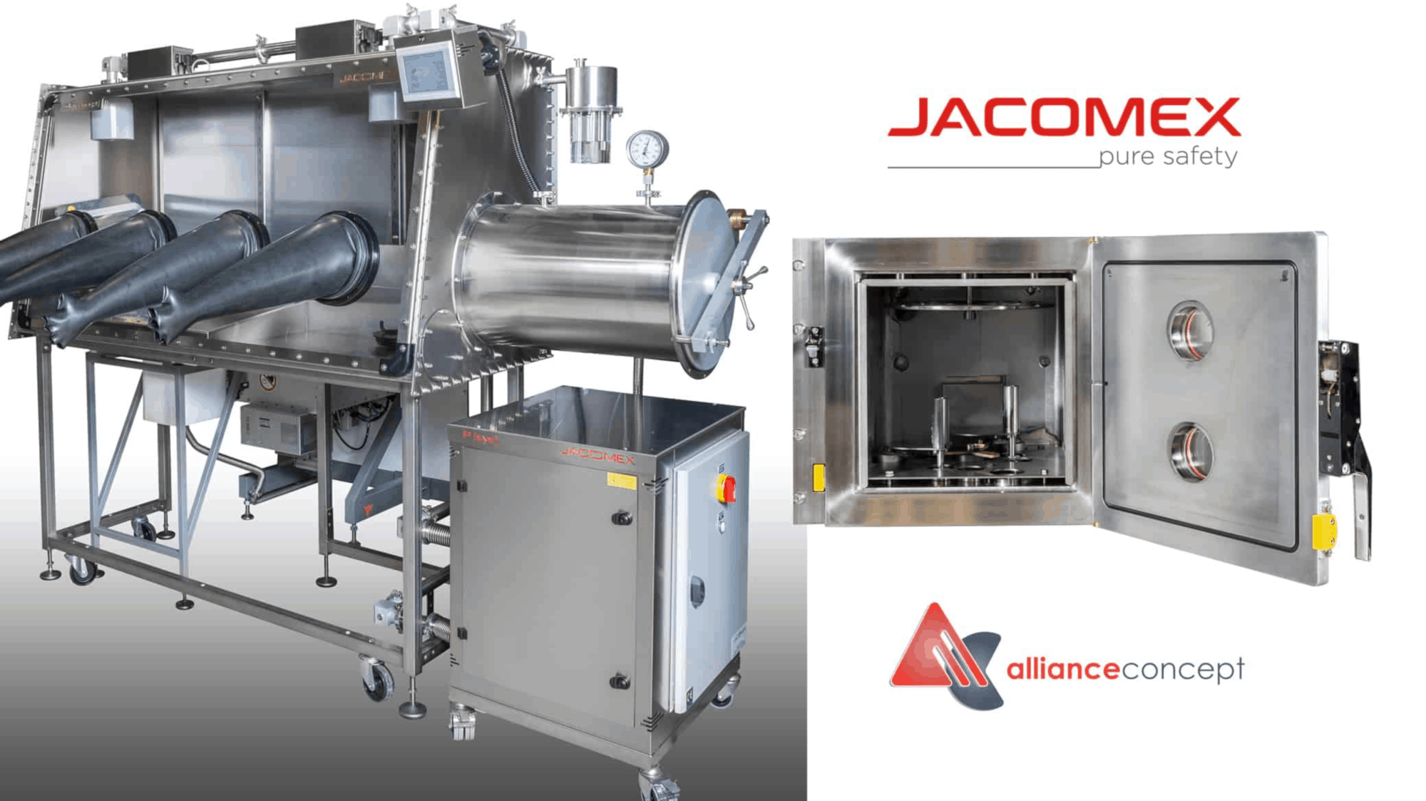 Glove Boxes with Joule Effect Vacuum for PVD Thin Film Deposition