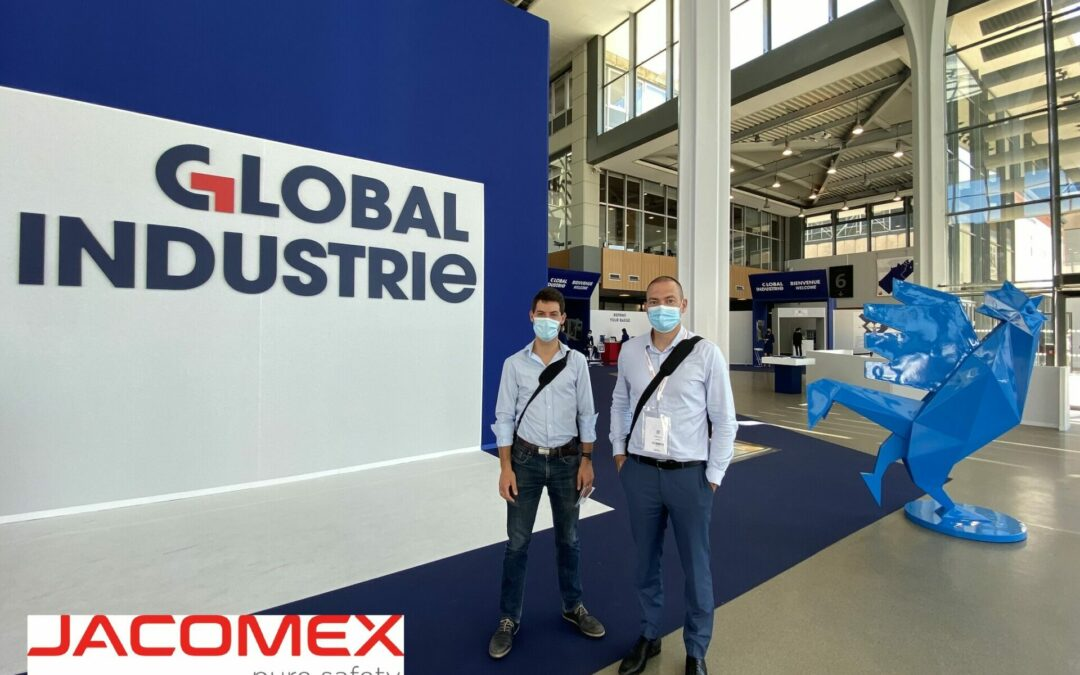 Both Chris are at GLOBAL INDUSTRIE!